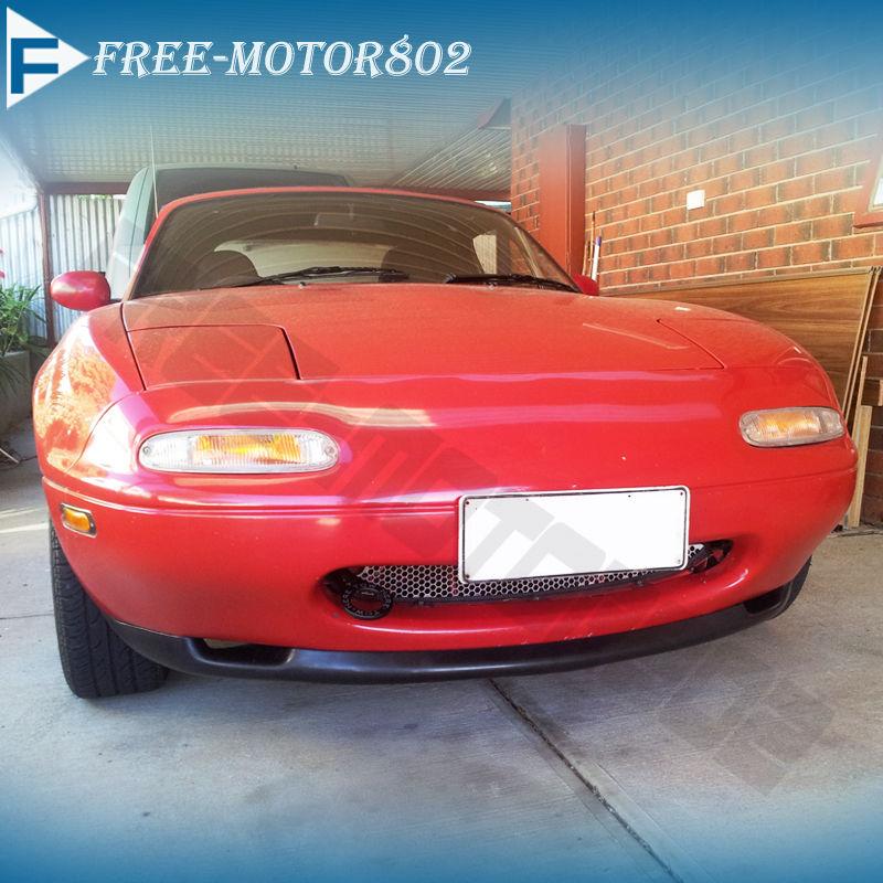 For 90 97 Mazda Miata Front Bumper Lip Spoiler Bodykit Rs