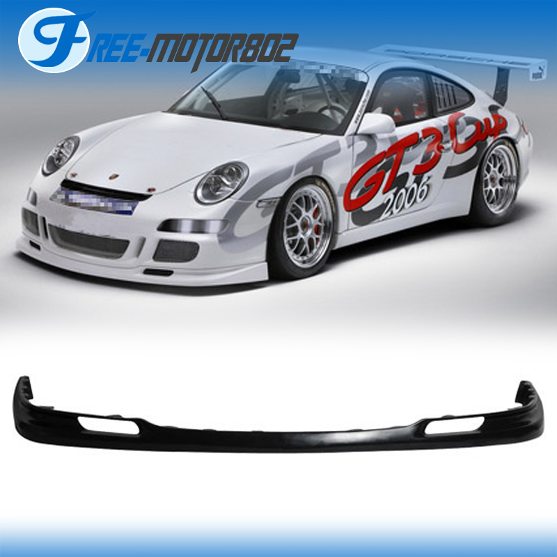 05-08 OE Style PU Front Bumper Lip Spoiler Fits Porsche 911 GT3