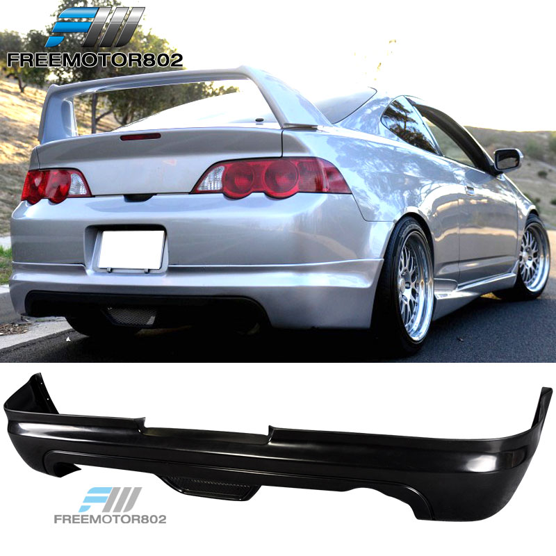 For 02-04 Acura RSX 2DR Mugen Style Rear Bumper Lip