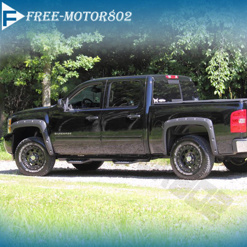1999 Chevrolet S10 Regular Cab Camshaft: Pocket Style Fender Flares Offroad 4X4 Fits 99-07 Chevy