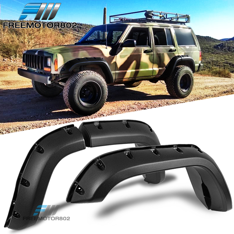 Fit Jeep Cherokee Xj 1984 2001 Fender Flares Pocket Style Wheel