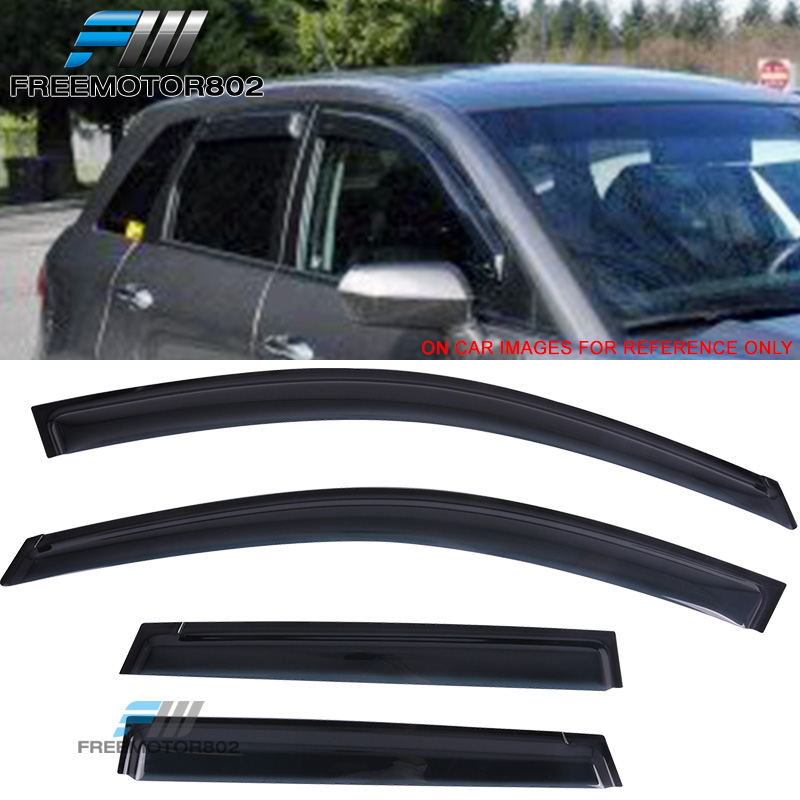 Fits 12-17 Toyota Camry Sedan Acrylic Window Visors 4Pc