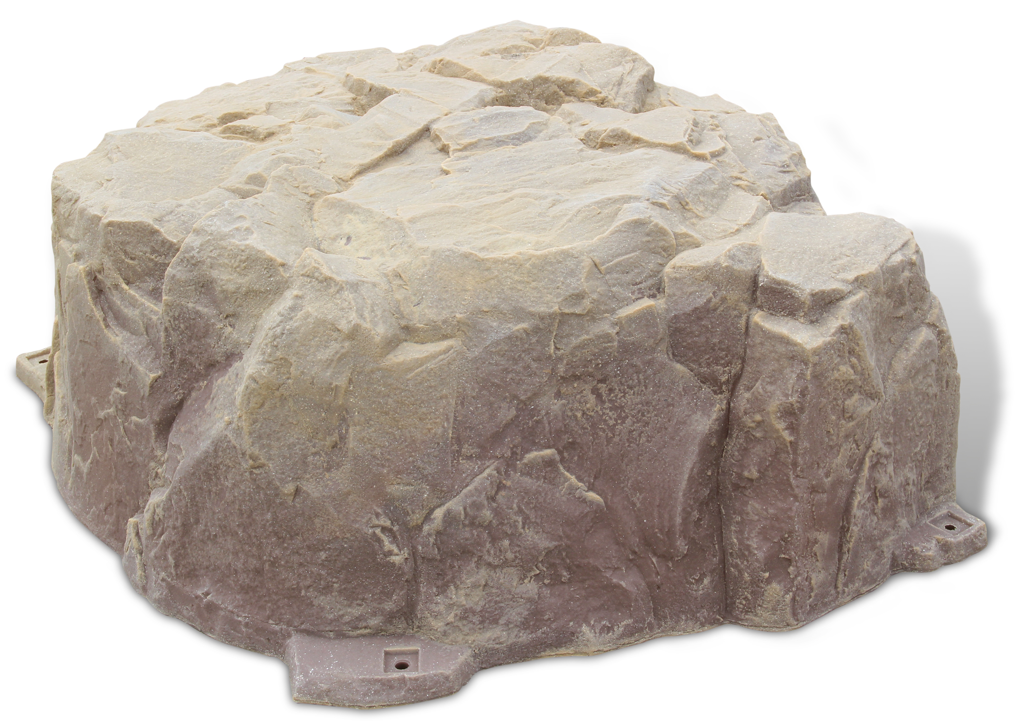 Fake Rock Septic Cover Model Sandstone Photo