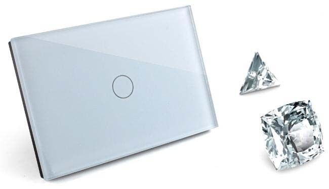 1-2-3-Gang-Touch-Remote-Dimmer-Light-Switch-Crystal-Glass-Wireless-Control-AUS