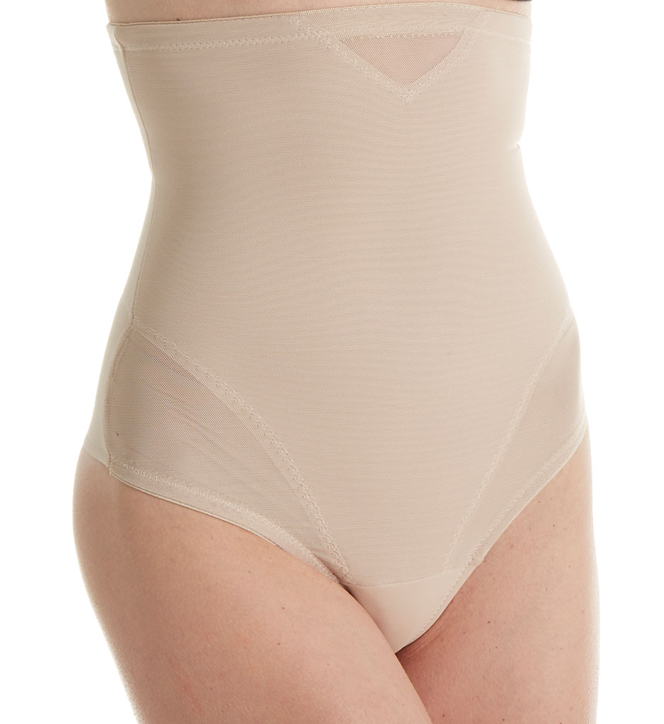 584146927a327 Miraclesuit 2778 Hi-waist Thong Shapewear Waist Cincher S Nude