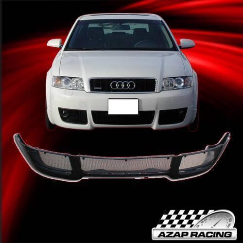 2002 2003 2004 V Style Pu Poly Urethane Front Bumper Lip Fits Audi A4 B6