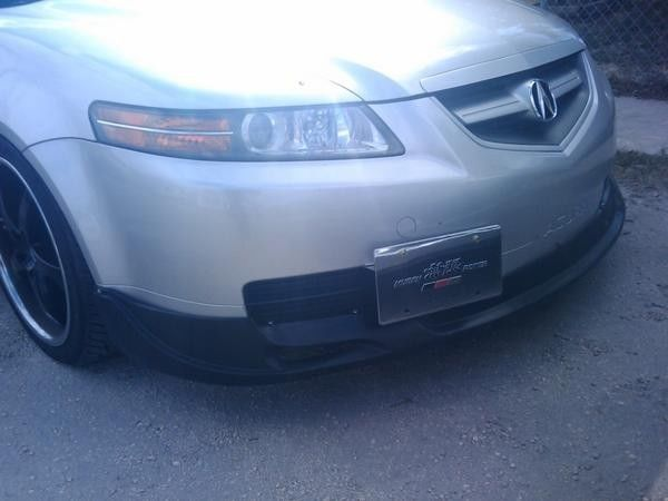 MUG Style Poly Urethane Front Bumper Lip Spoiler Fits - Acura tl front lip