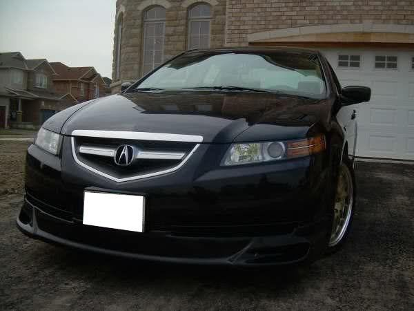 MUG Style Poly Urethane Front Bumper Lip Spoiler Fits - Acura tl bumper