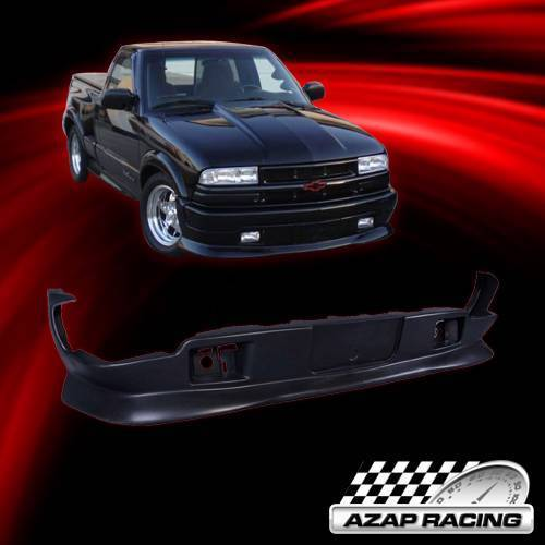Details about 98-04 Extreme Style PU Front Bumper Lip Spoiler Fits Chevy  S10/GMC S15 Sonoma