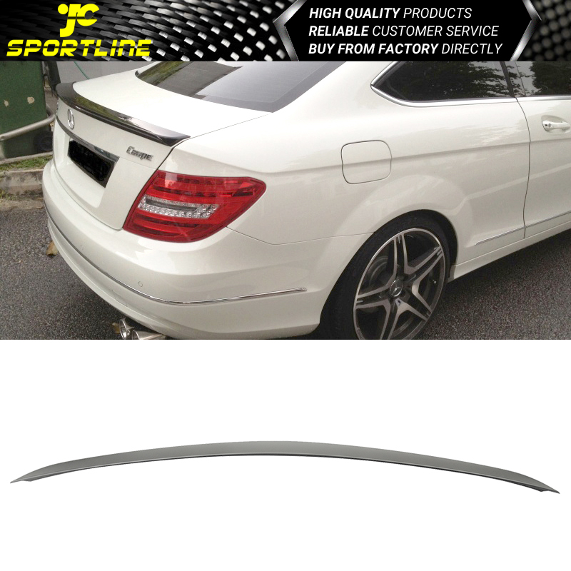 Fit 11-14 Mercedes-Benz C204 C-Class 2Dr OE Style Roof Spoiler Wing ABS New