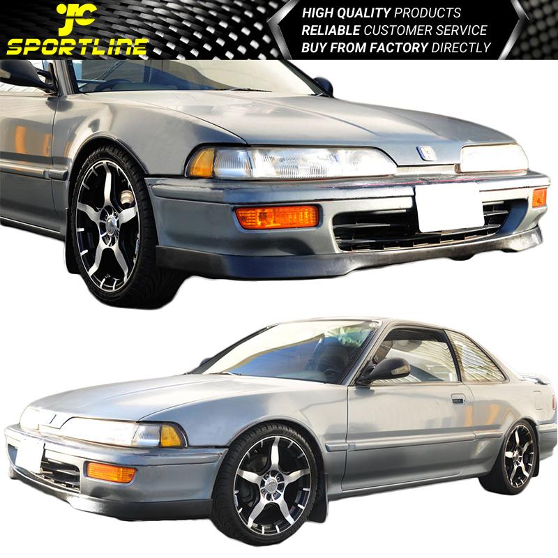 Fits 1992 1993 Acura Integra T-R Style Front Bumper Lip