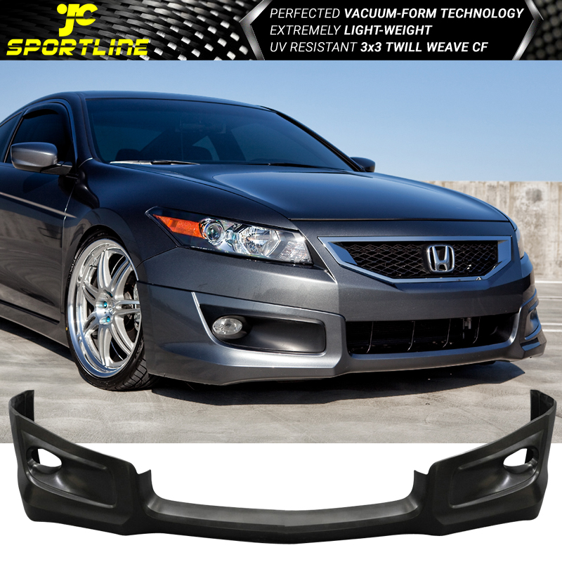 98 Honda Accord Coupe For Sale: Fits 08 09 10 Honda Accord Coupe PU Front Bumper Lip HFP