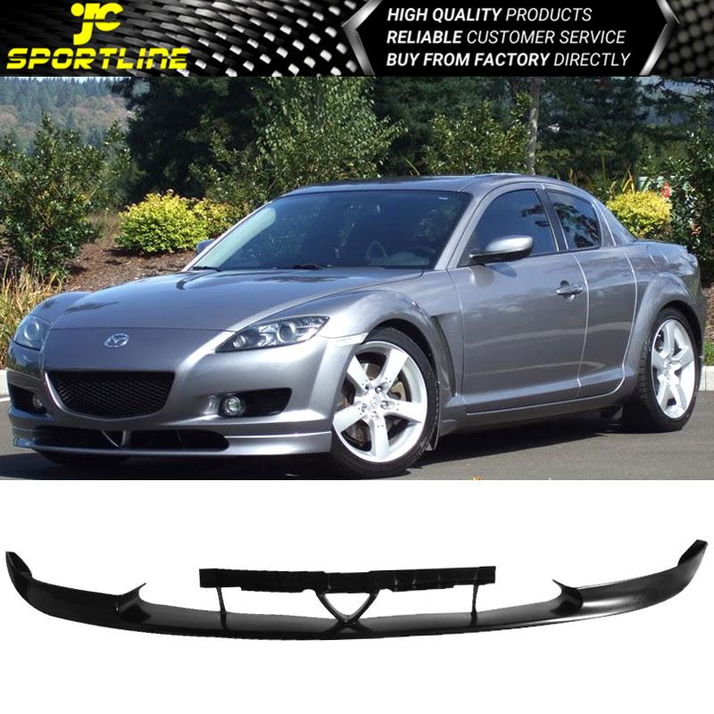 Fits 04 07 Mazda Rx 8 Oe Style Pu Front Bumper Lip Spoiler Bodykits Ebay