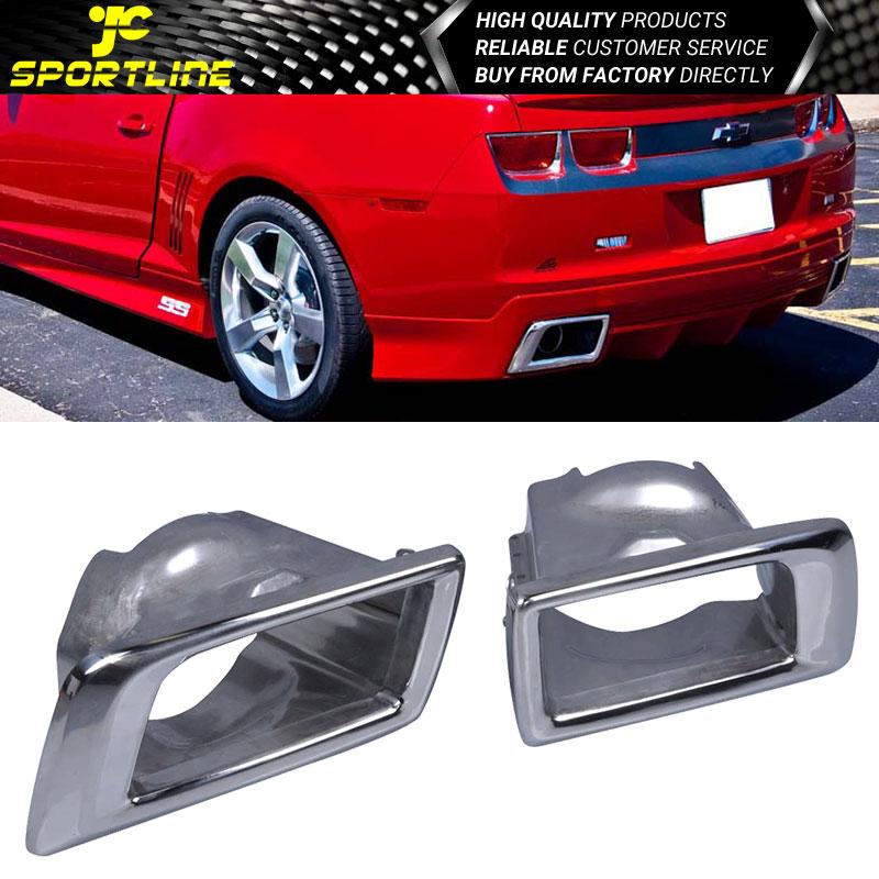 2010-2013 Chrome Stainless Steel Muffler Tip Fits Chevrolet Camaro 2Door