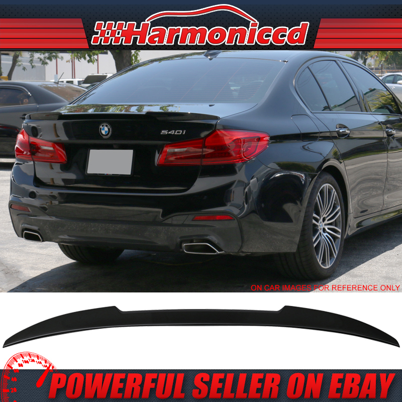 USA Stock 14-17 BMW 4-Series F32 M4 Style Trunk Spoiler Painted #668 Jet Black