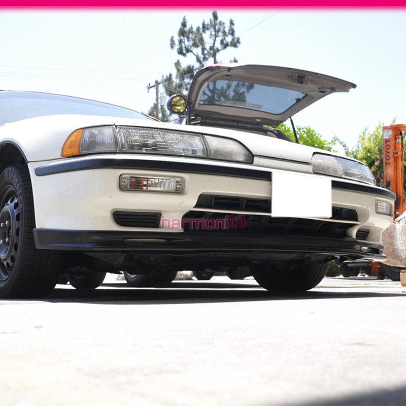 Fits 90-91 Acura Integra DA Front Bumper Lip Spoiler