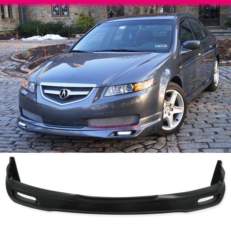 Fits Acura TL Base Sedan Dr JDM Front Bumper Lip Spoiler - 2006 acura tl front bumper