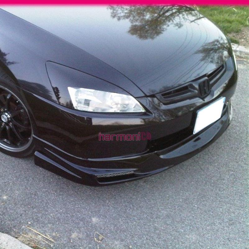 Fits 03 04 05 Honda Accord 4Door Mug Style PU Front Bumper