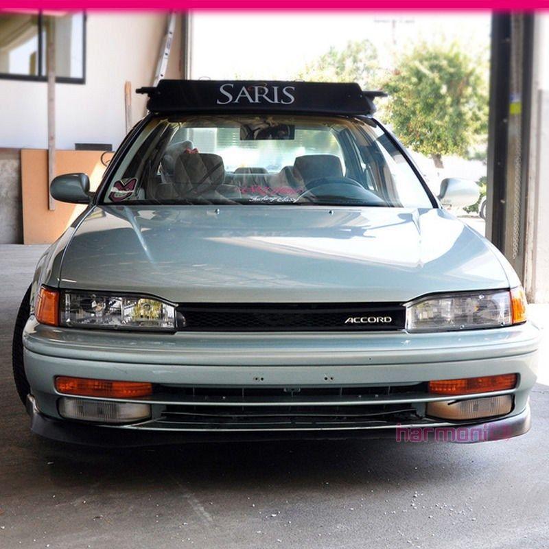 Brand New For 1990-1993 Honda Accord PU Front Bumper Lip
