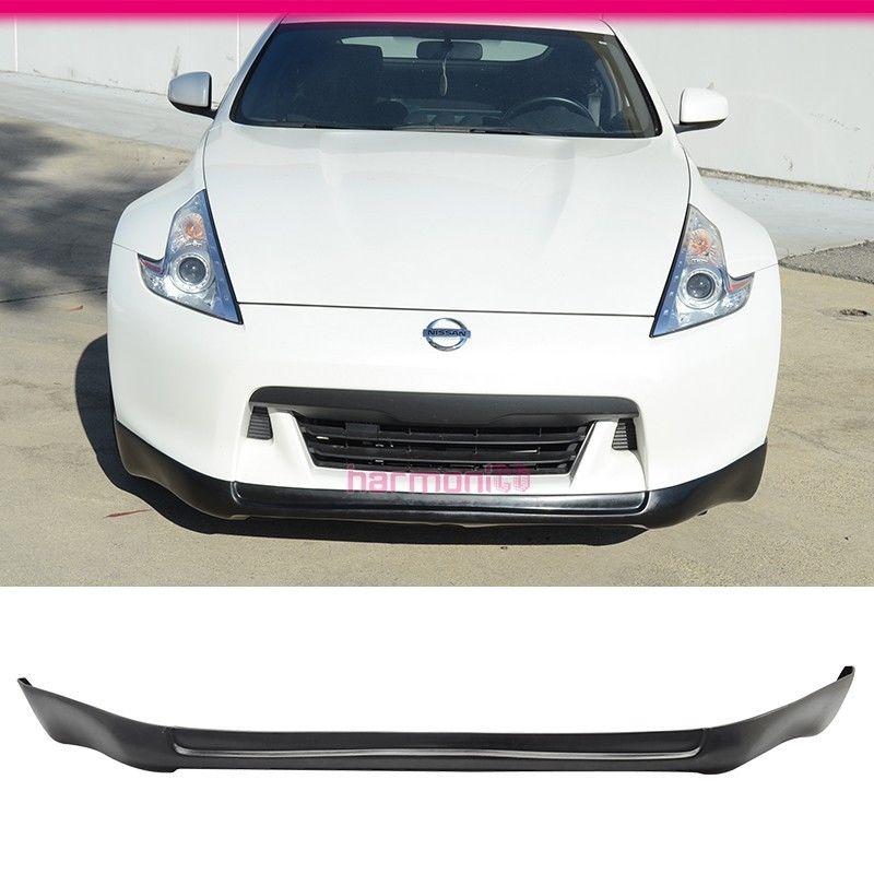 Fits 09 12 Nissan Fairlady Z 370z Ings Style Front Bumper Lip Pu