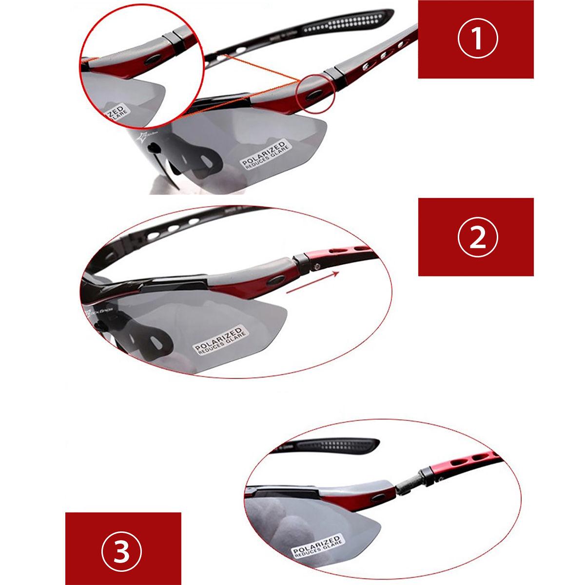 rockbros fahrrad brille sonnenbrille 5wechselgl ser rennrad rad sportbrille cs10 ebay. Black Bedroom Furniture Sets. Home Design Ideas