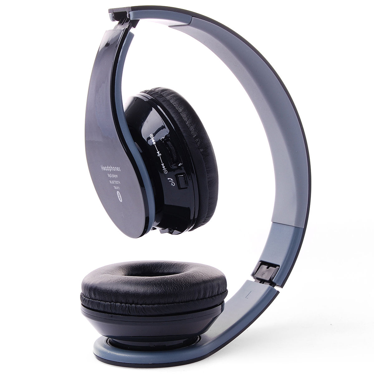 hifi stereo bluetooth headset mic kopfh rer ohrh rer f r. Black Bedroom Furniture Sets. Home Design Ideas