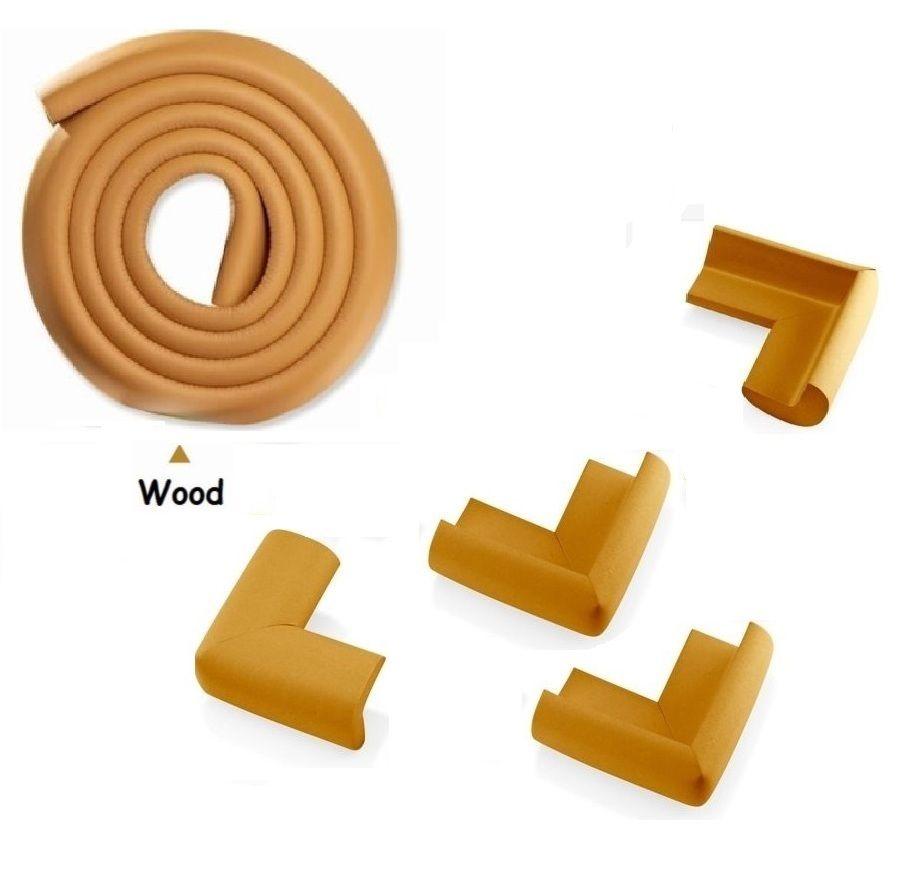2m baby kinder tisch kantenschutz m bel eckenschutz sicherheit 4 ecke schutz ebay. Black Bedroom Furniture Sets. Home Design Ideas