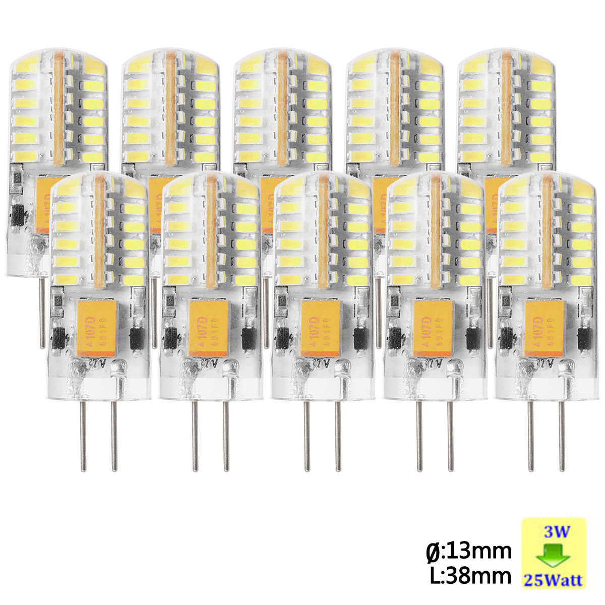4x 10x sunix g4 led stiftsockel lampe 12v ac dc 1 5w 3w leuchtmittel dimmbar ebay. Black Bedroom Furniture Sets. Home Design Ideas