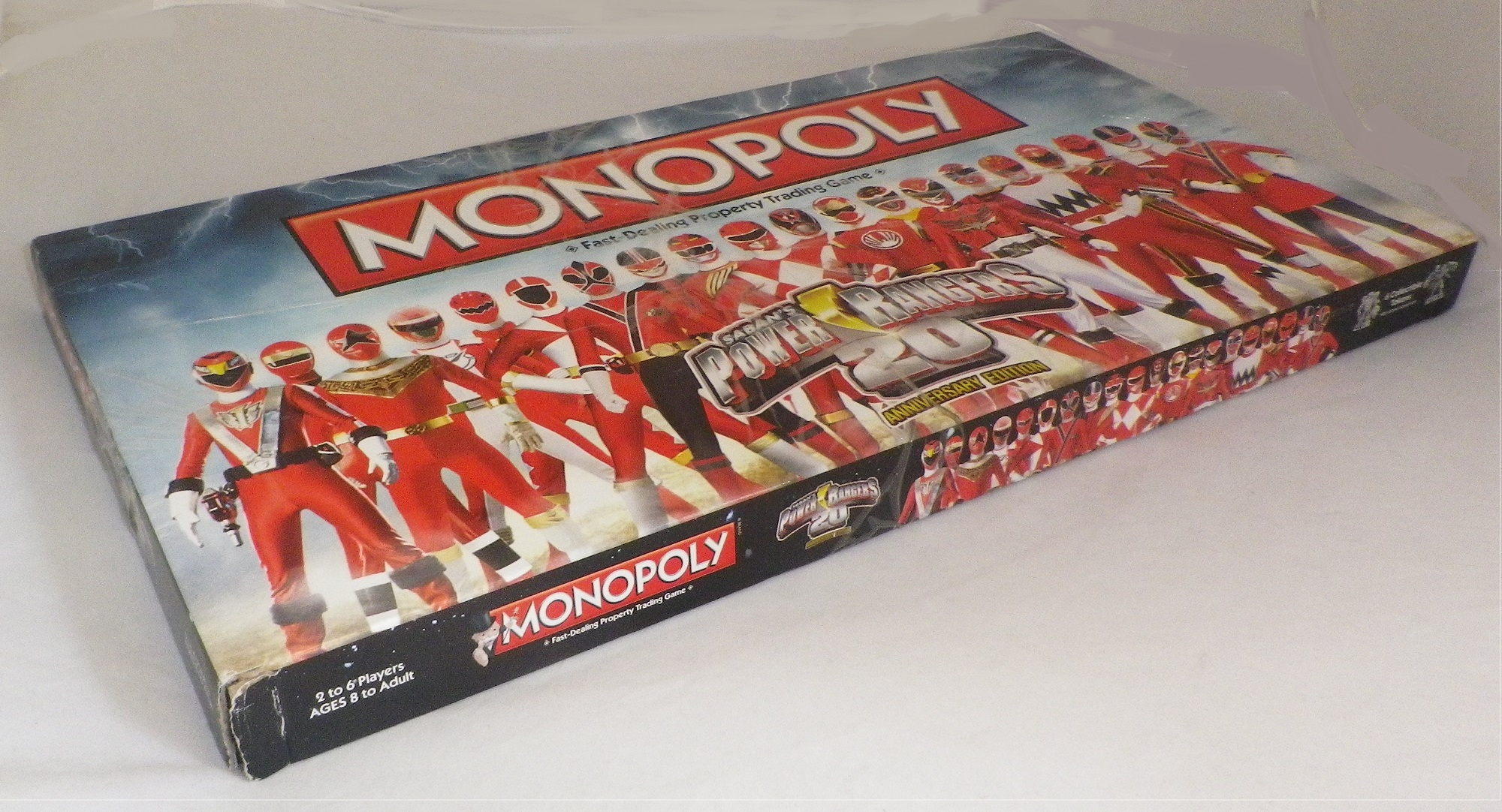 Power Rangers 20th Anniversary Edition Monopoly Board Game