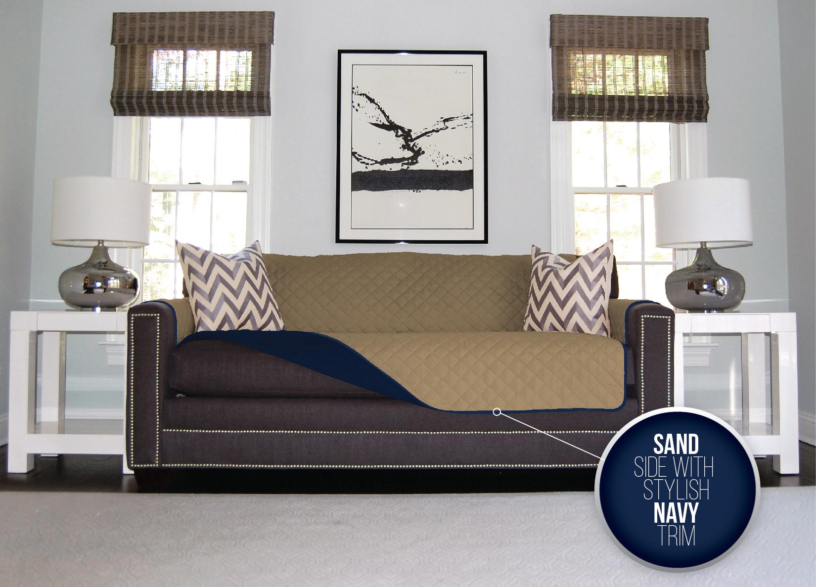 The Original SOFA SHIELD Sofa Protector 4 Sizes