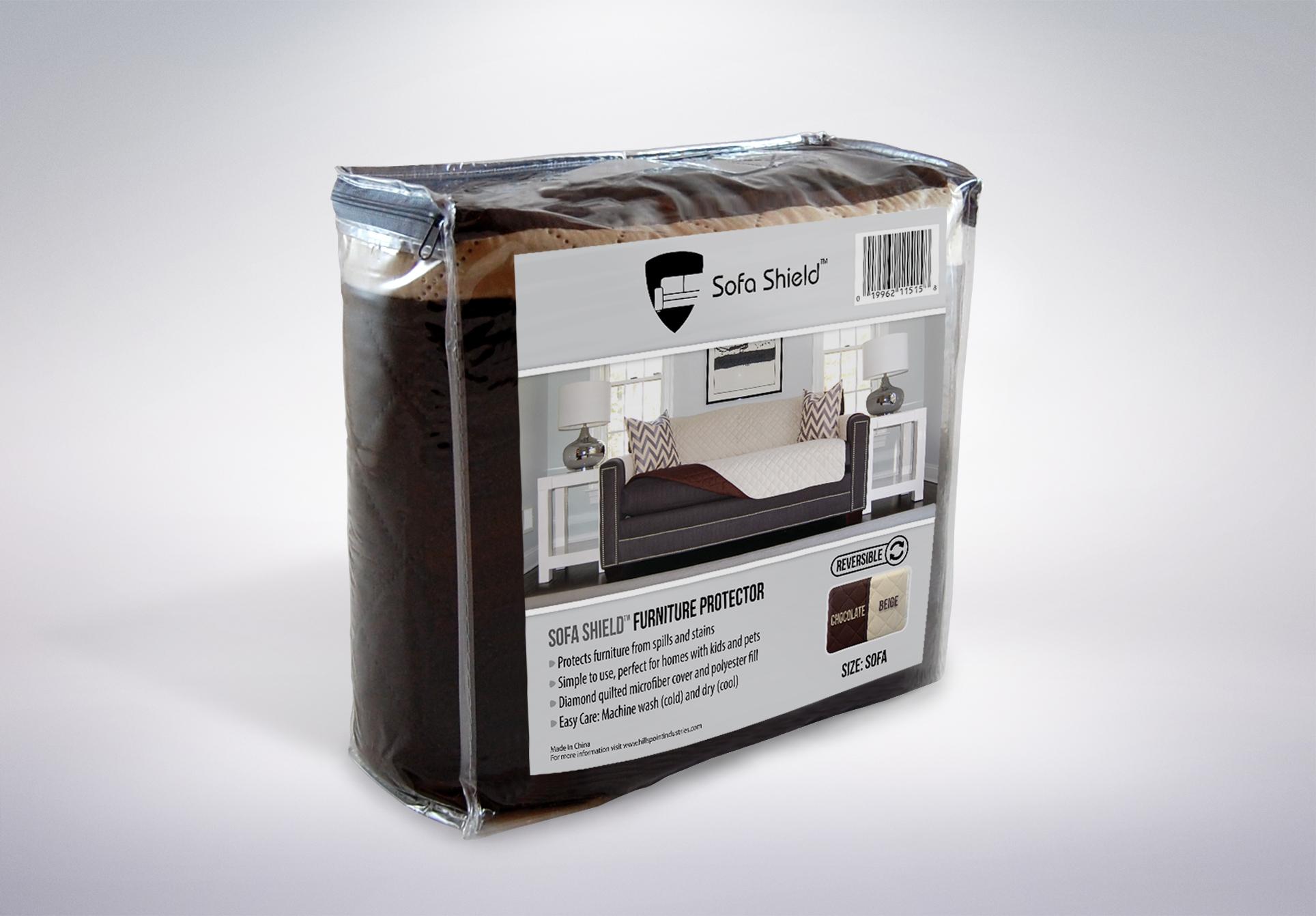 The Original SOFA SHIELD Sofa Protector 4 Sizes Reversible