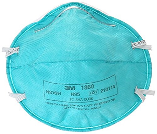 Count Surgical About 1860 Details And Respirator N95 20 Mask 3m