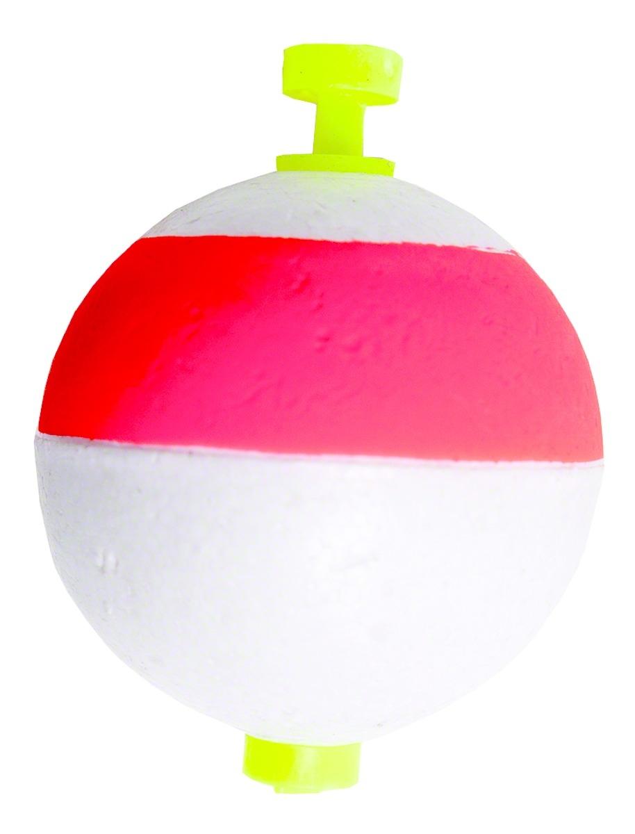 Billy Boy B150SN-50RW Round Foam Float Snap-On 50Bg 1-1  2  Red White  most preferential