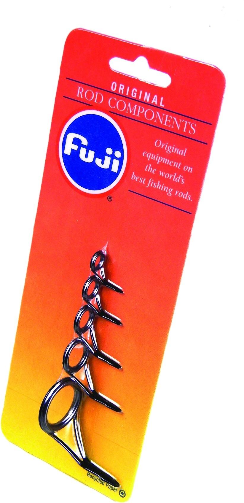 New Fuji Rod Building 10pk Aluminum Oxide Rod Guide Black-All Purpose BLVOG6
