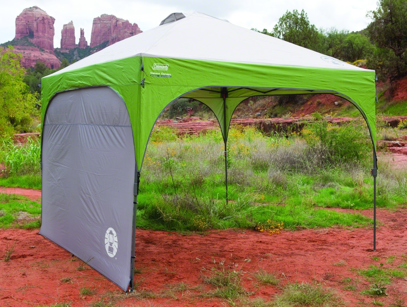 Coleman Shelters And Canopies : Coleman canopy sunwall shelter accessory ebay