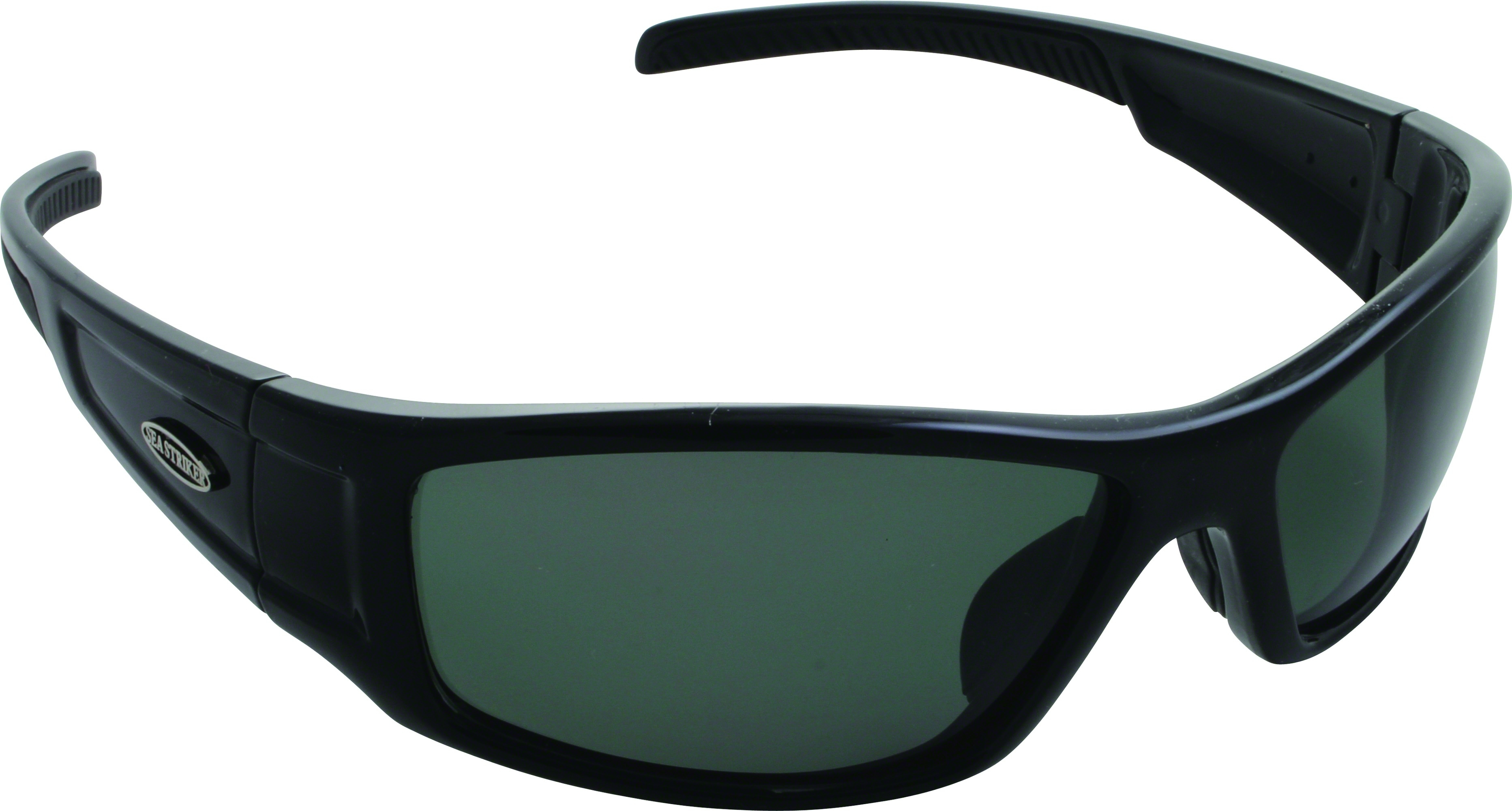 d8375fd3afb4 Details about Sea Striker 287 Sea Star Sunglasses Black Grey Lenses  Polarized