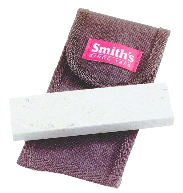 """Smith/'s Abrasives 4/"""" Natural Arkansas Stone w//Base and Cover #50556"""