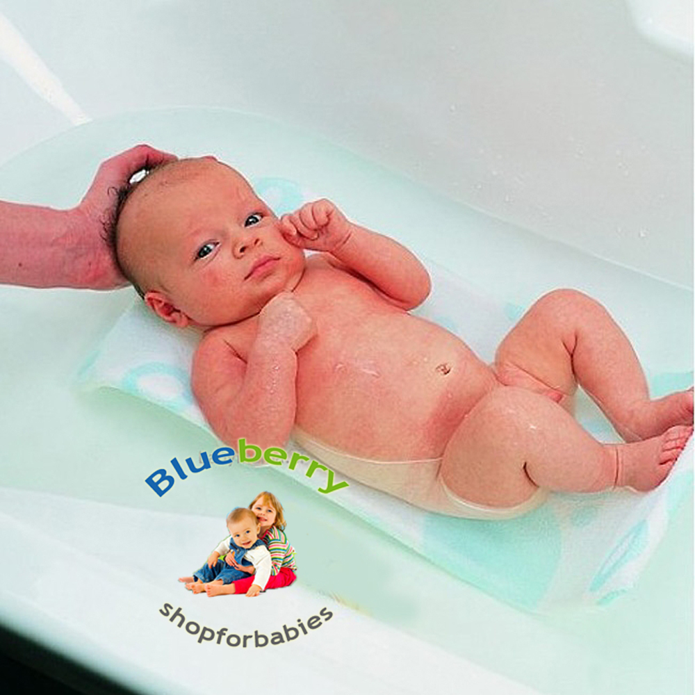 Details about White BlueberryShop Soft Thermo Therry Thick Newborn Baby Bath Support Seat