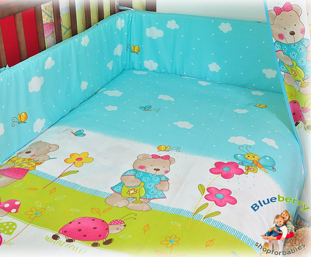 blueberryshop 2 tlg baby bettw sche set kinderbettw sche bettset bettdecke kiss ebay. Black Bedroom Furniture Sets. Home Design Ideas