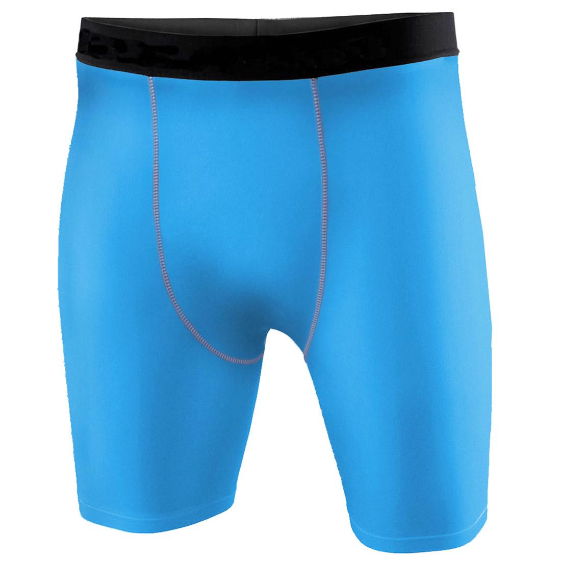 Mens Sports Compression Shorts Pants Shirts Workout Base