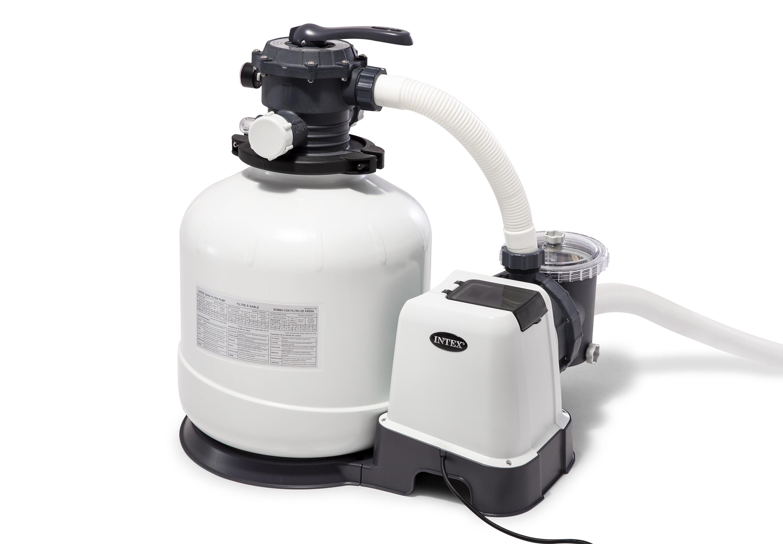 Intex Krystal Clear 3000 GPH Above Ground Swimming Pool Sand Filter Pump  26651EG