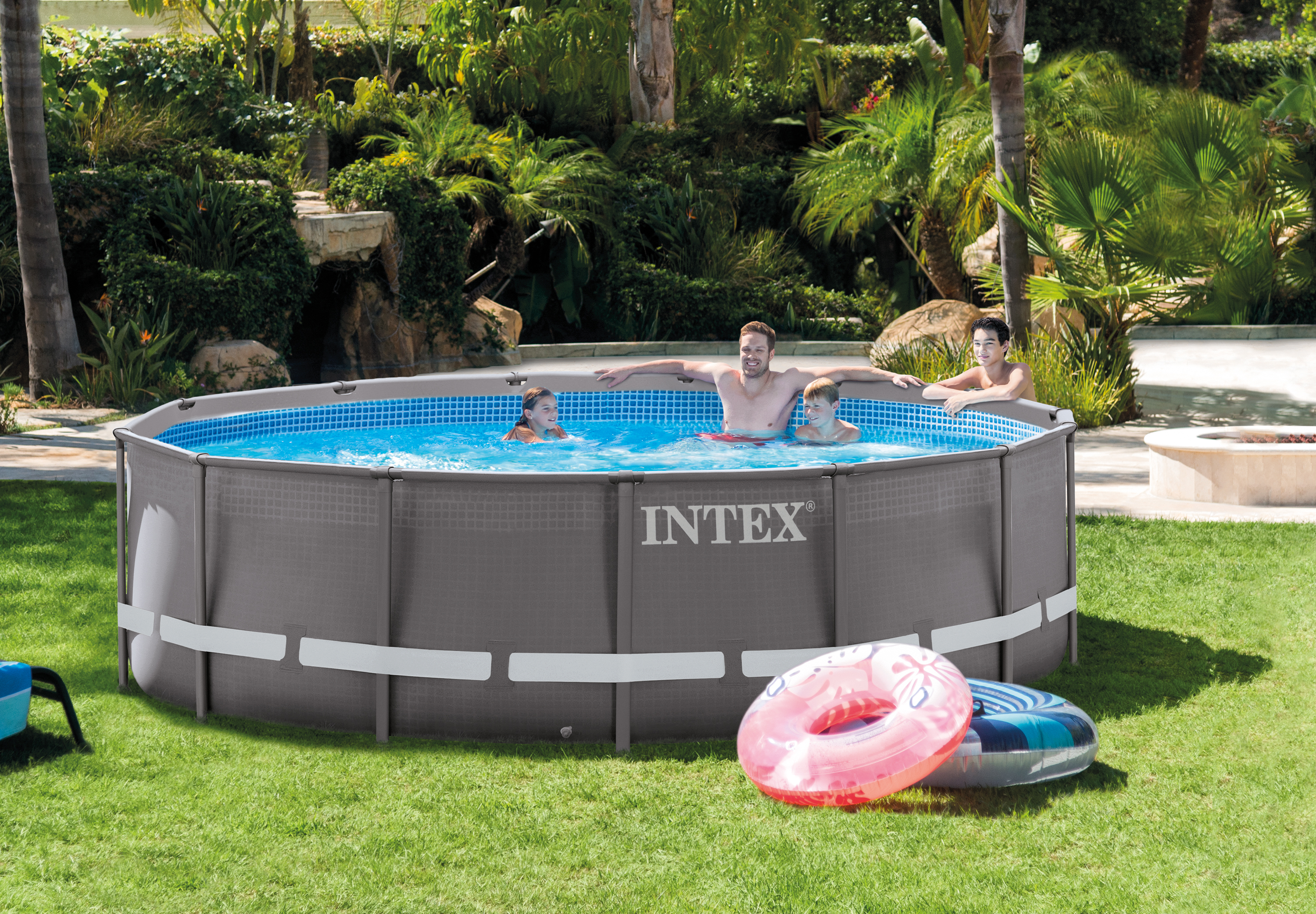 Tolle Intex 14x42 Ultra Frame Pool Bilder - Benutzerdefinierte ...