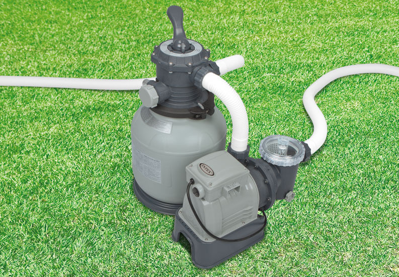 Intex krystal clear 2100 gph above ground easy set pool sand filter pump 28645eg ebay for Swimming pool pumps for above ground pools