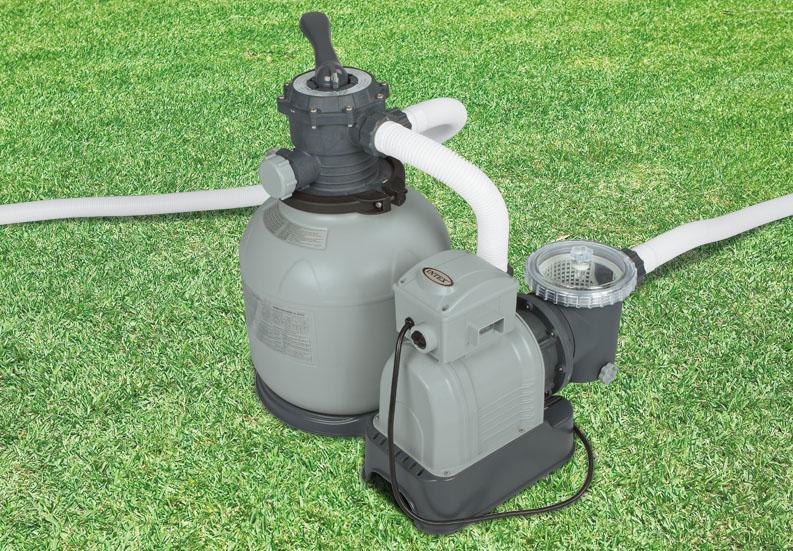 Intex Krystal Clear 2800 Gph Above Ground Swimming Pool Sand Filter Pump 28647eg 740016023227 Ebay