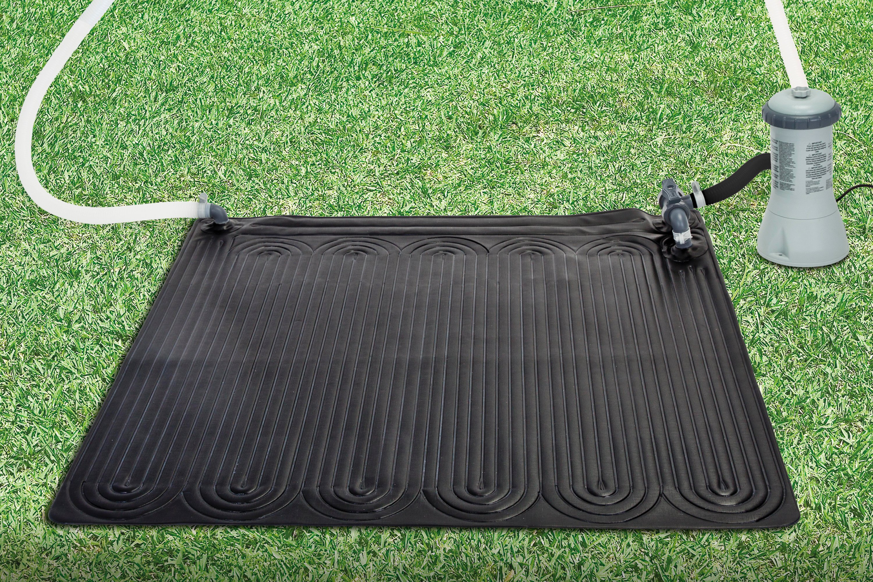 Details about Intex Solar Mat Above Ground Swimming Pool Water Heater Black  28685E
