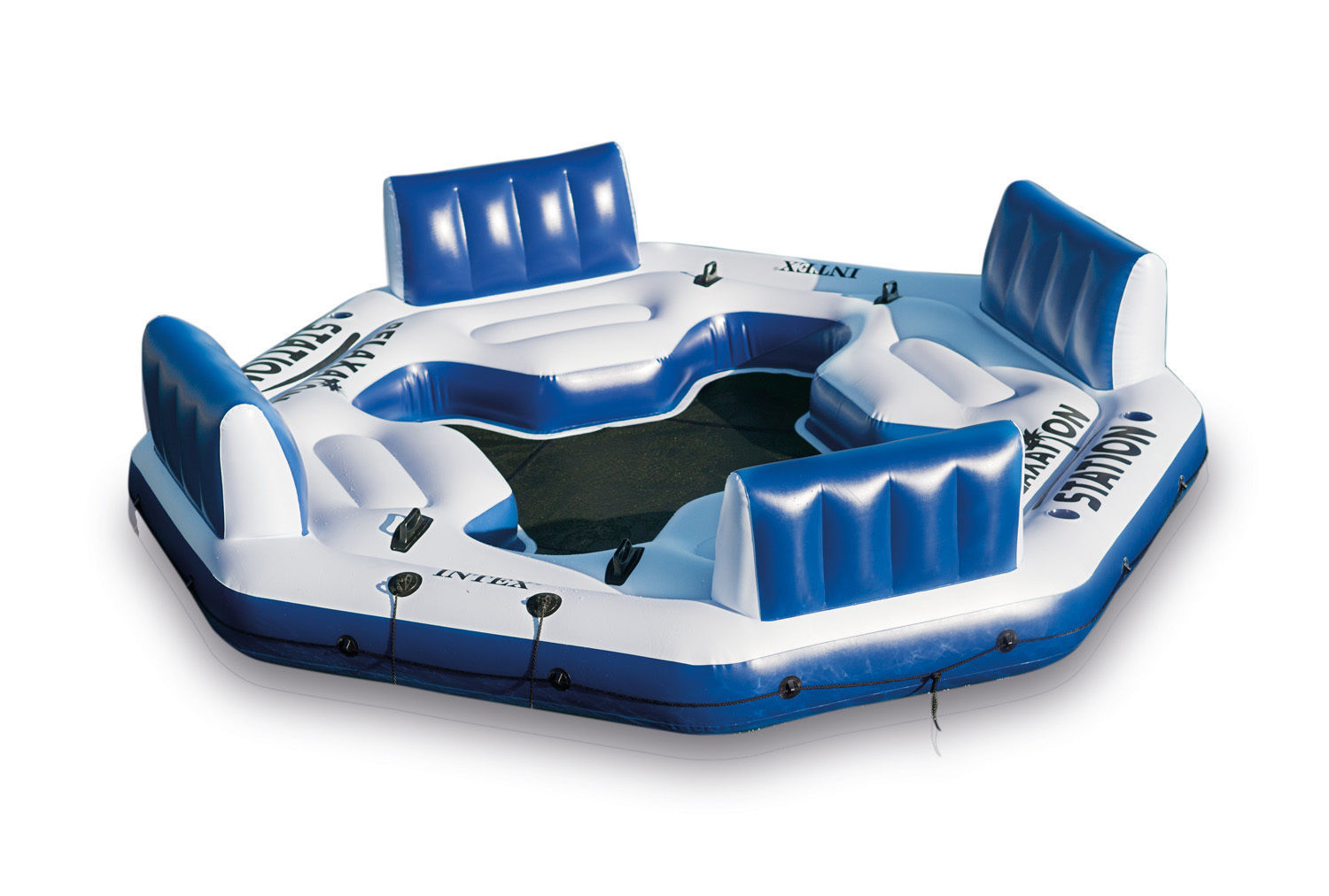 Relaxation Station Pool Lounge: Intex Pacific Paradise Relaxation Station Water Lounge 4