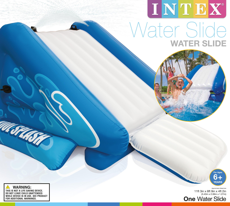Pool Water Splash: Intex Kool Splash Kids Inflatable Swimming Pool Water