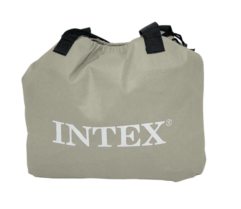 Intex Queen Essential Rest Fiber-Tech Air Bed Mattress ...