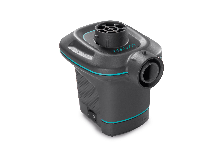 Intex 120V Quick Fill AC Electric Air Pump w//Nozzles Boat Mattress Tube Pump