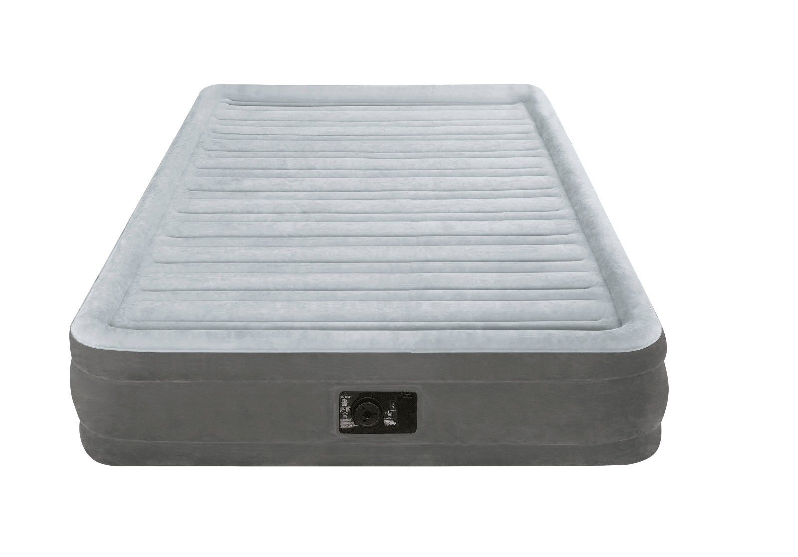 Intex Full Dura Beam Comfort Plush Mid Rise Air Bed ...